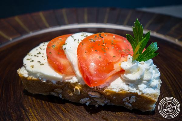 Tomato and Mozzarella Sandwich at Duran Sandwiches in NYC, NY