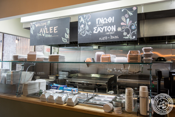 Kitchen at Avlee Greek Kitchen in Brooklyn, NY