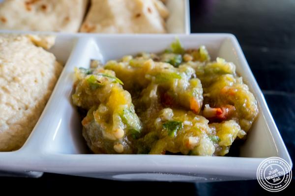 Melitzanosalata at Avlee Greek Kitchen in Brooklyn, NY