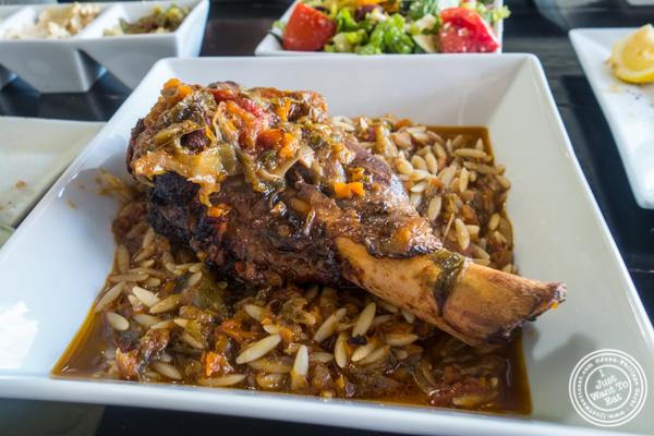 Arni Youvetsi Kokkinisto at Avlee Greek Kitchen in Brooklyn, NY