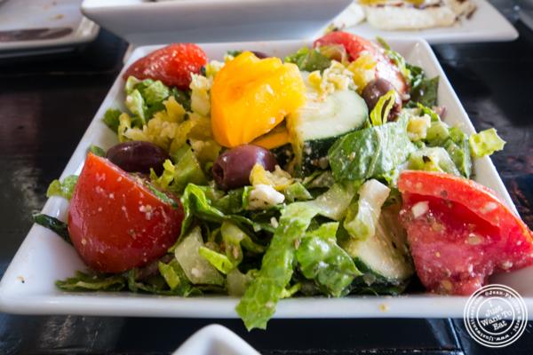 Greek salad at Avlee Greek Kitchen in Brooklyn, NY