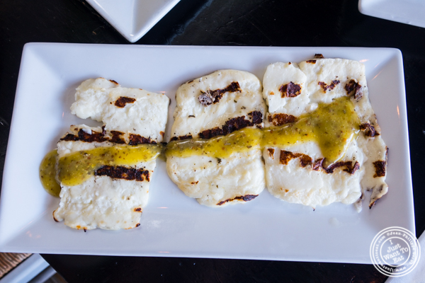 Grilled Haloumi at Avlee Greek Kitchen in Brooklyn, NY
