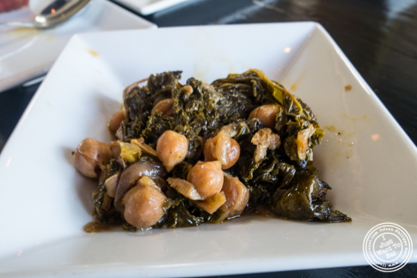 Horta Revithia at Avlee Greek Kitchen in Brooklyn, NY