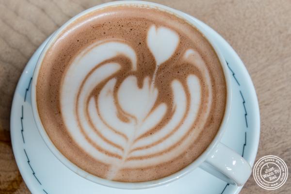 Hot chocolate at Sightglass Coffee in San Francisco, CA