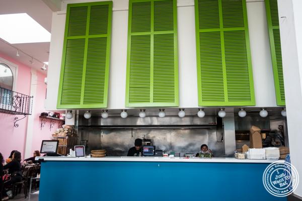 Kitchen at La Cholita Linda in Oakland, CA