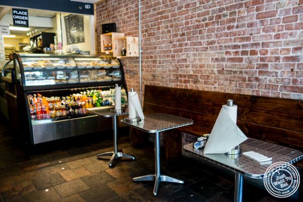 Dining room at Empanadas Café in Hoboken, NJ