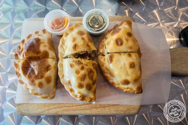 Empanadas at Empanadas Café in Hoboken, NJ