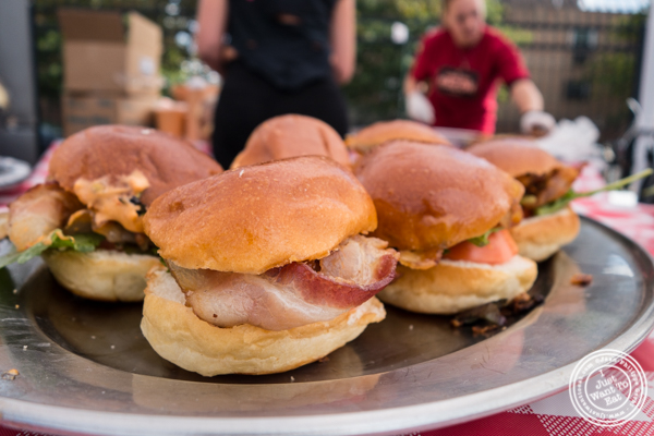 BLT sliders from Sweet Science at The Great Big Bacon Picnic in Williamsburg, Brooklyn
