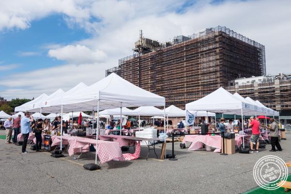 The Great Big Bacon Picnic in Williamsburg, Brooklyn