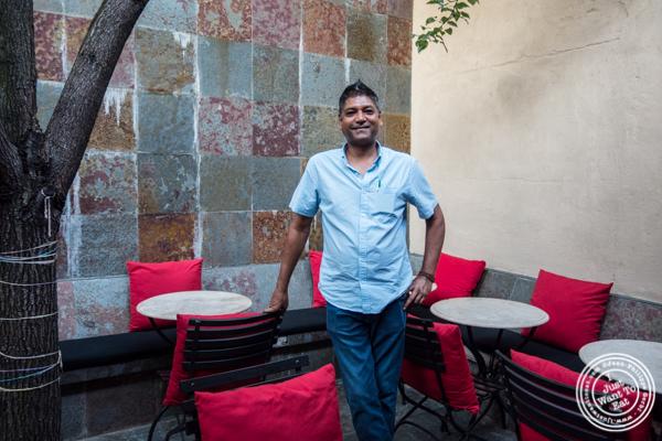 Sonny Solomon, co-owner of Kurry Qulture in Astoria, Queens