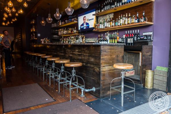Bar at Kurry Qulture in Astoria, Queens