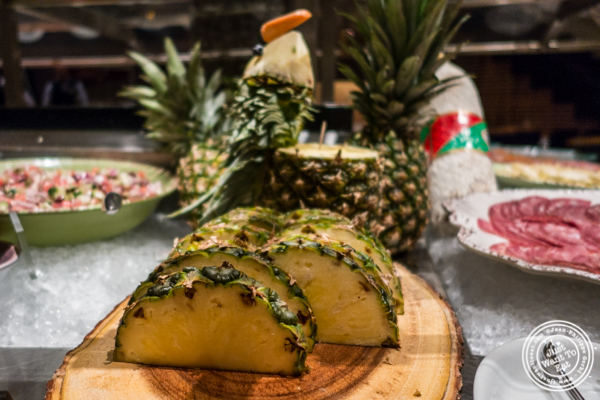 Pineapple at Fogo de Chao in NYC, New York