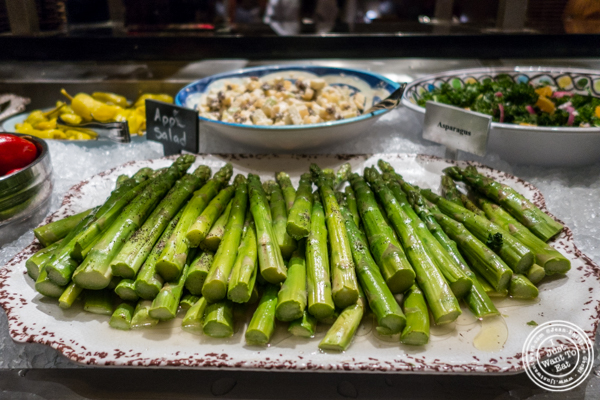 Asparagus at Fogo de Chao in NYC, New York