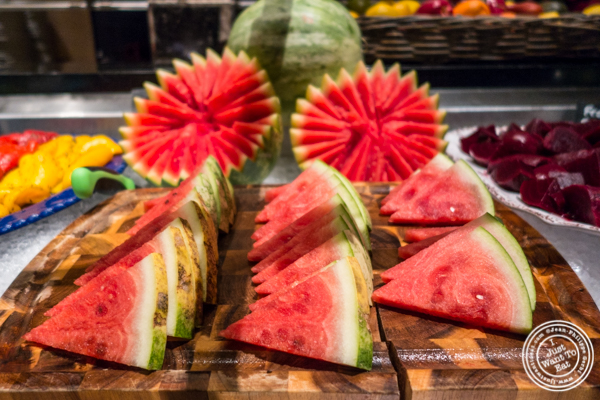 Watermelon at Fogo de Chao in NYC, New York