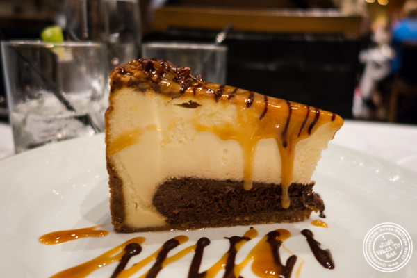 Chocolate cheesecake at Fogo de Chao in NYC, New York