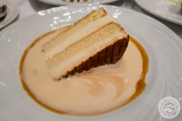 Tres leches at Fogo de Chao in NYC, New York