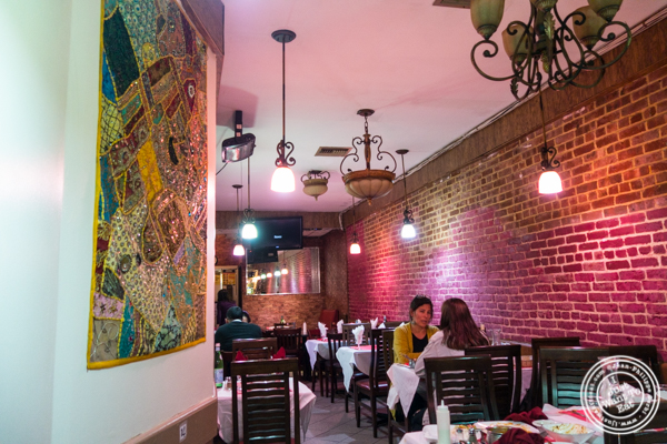 Dining room at Bombay Grill House in Hell's Kitchen