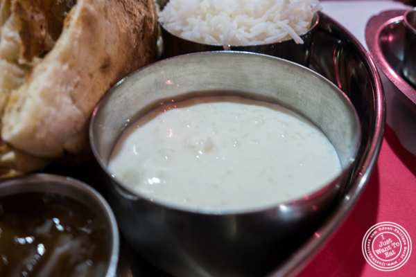 Kheer or rice pudding at Bombay Grill House in Hell's Kitchen