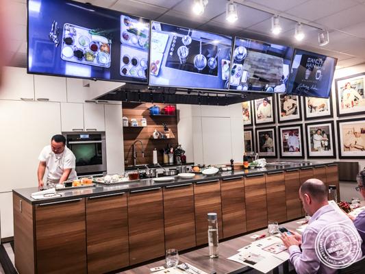 Kitchen at De Gustibus Cooking School at Macy's, NYC, NY