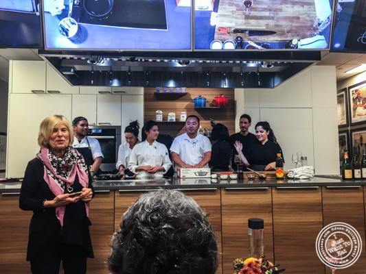 Arlene Feltman Sailhac, founder of De Gustibus Cooking School