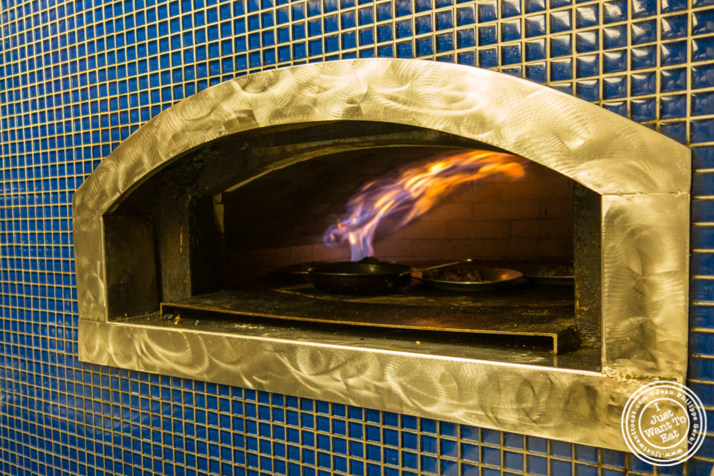 Taboon oven at Bustan on the Upper West Side, NYC