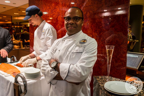 Executive Chef Richard Farnabe from Petrossian in NYC, New York