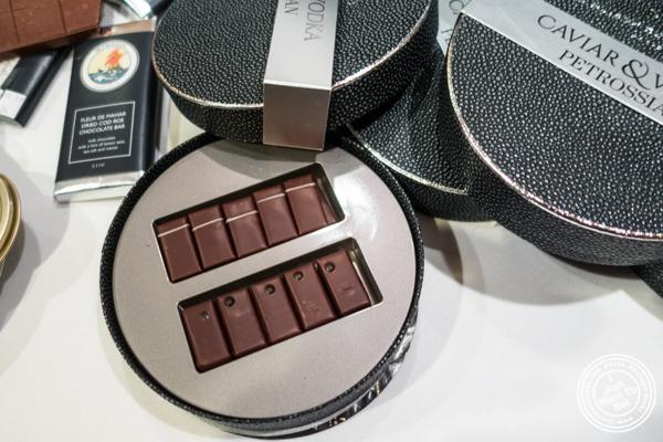 Vodka and caviar chocolate, a Petrossian and La Maison du Chocolat collaboration