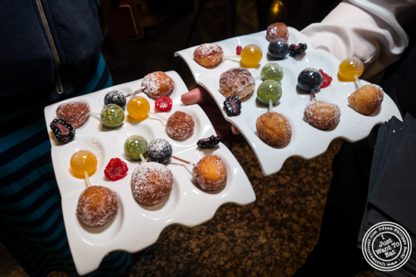 Beignets at Petrossian in NYC, New York