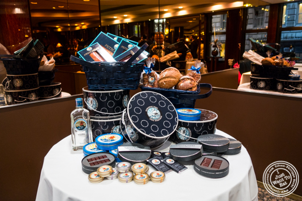 Display at Petrossian in NYC, New York