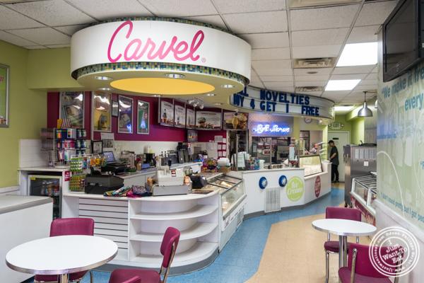 Inside Carvel in Woodside, Queens