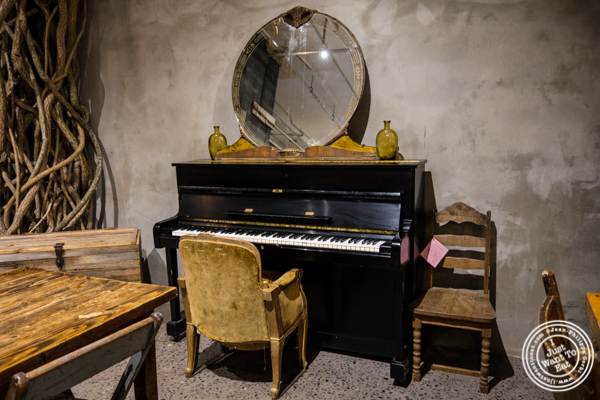 Piano at The Gansevoort Market in NYC