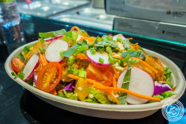 Yacht Dubu salad at OPPA in the Gansevoort Market, NYC