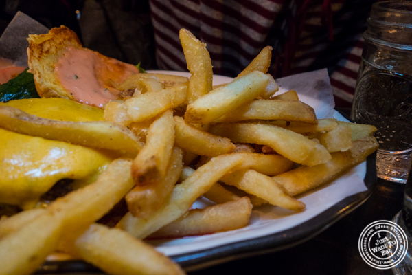 French fries at Black Tap Burger, Meatpacking District, NYC