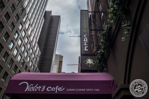 Victor's Café, Cuban restaurant in NYC, NY