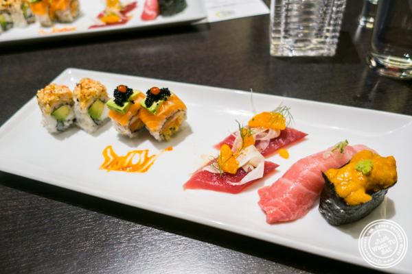 Sushi at Haru in Hell's Kitchen, NYC, NY