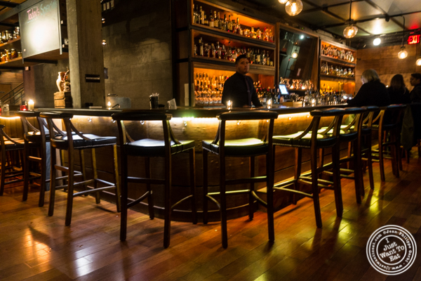 Bar at Butter in NYC, NY