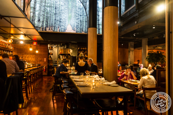 Dining room at Butter in NYC, NY
