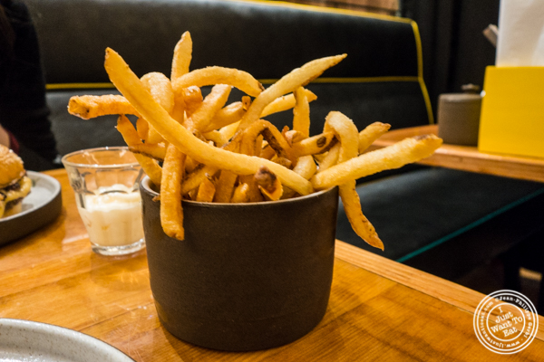 French fries at Salvation Burger in NYC, NY