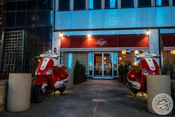 Facade of Lugo Cucina in NYC, NY