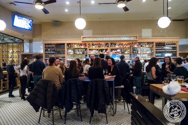 Bar area at Lugo Cucina in NYC, NY