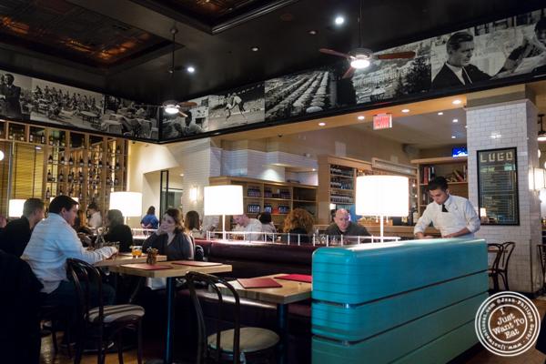 Dining room at Lugo Cucina in NYC, NY