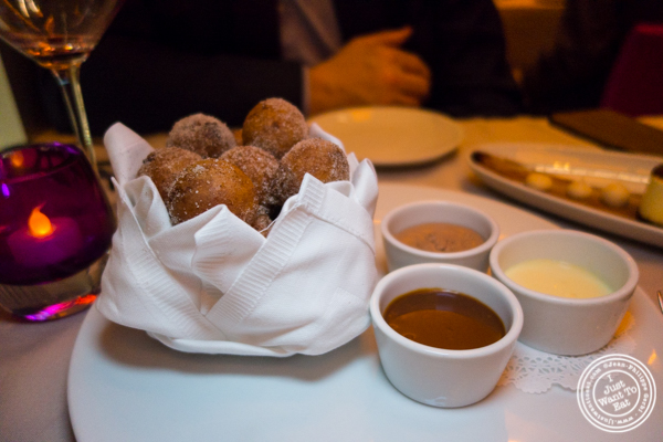 Bomboloni at Robert in The Museum of Art and Design, NYC, NY