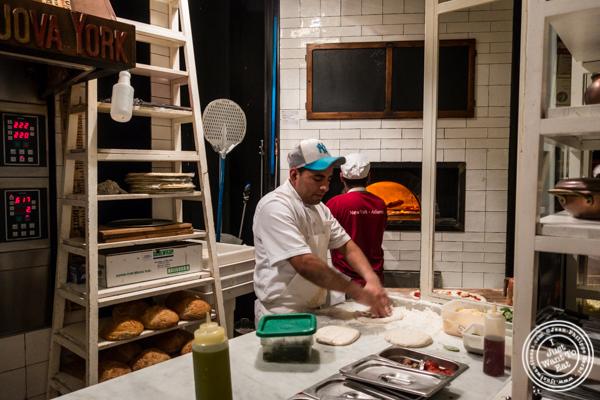 Kitchen at Ribalta in NYC, NY