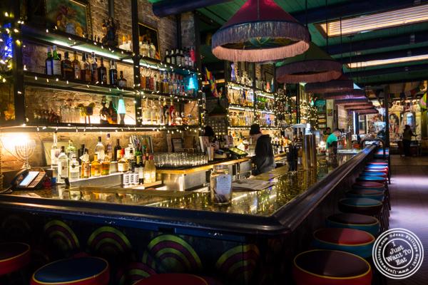 Bar at Salvation Taco in NYC, NY