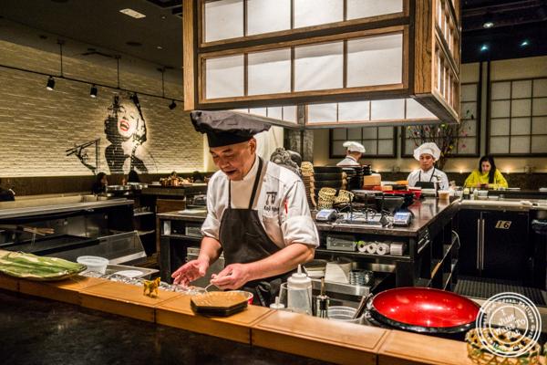 Chef Koji Hagihara of ROKI Le Izakaya in NYC, NY
