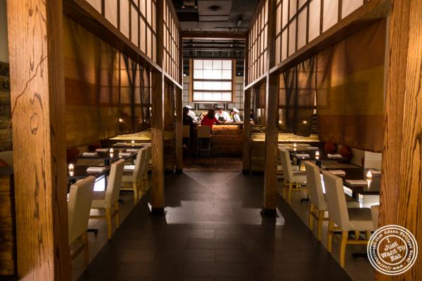 Entrance of ROKI Le Izakaya in NYC, NY