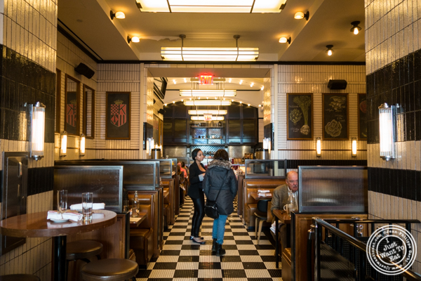 Dining room at Kingside in NYC, NY