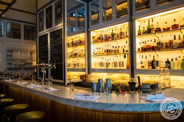 Bar at Kingside in NYC, NY