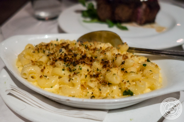 Mac and cheese at Westside Steakhouse in NYC, NY