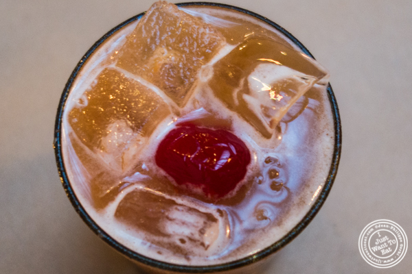 Tamarind whiskey sour at Kelley and Ping in Greenwich Village